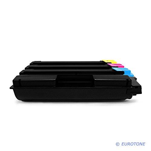 Preisvergleich Produktbild 4x Eurotone Toner für Utax CDC 1626 1726 5526 5626 L ersetzt Schwarz Blau Rot Gelb