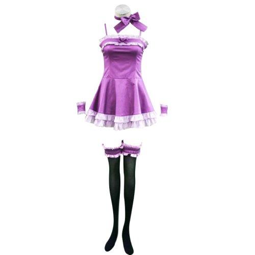 Dream2Reality japanische Anime Vampire Knight Cosplay Kostuem - Yuki Kurosu Night Dress 1st Ver X-Large