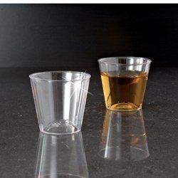 1oz. Klar Elegante Schnapsgläser aus Kunststoff Glas/Tasse 50/502500CS