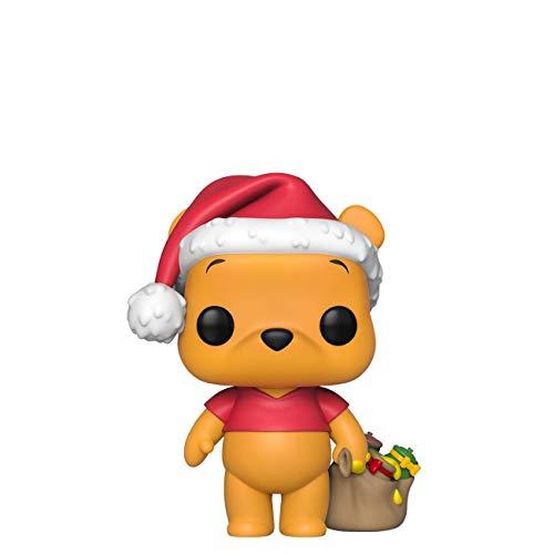 Funko 43328 POP Vinyl Disney: Holiday-Winnie The Pooh Sammelbares Spielzeug, Mehrfarben