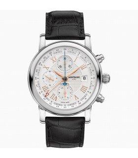 Montblanc Star Herren-Armbanduhr 43mm Armband Aligatorleder Automatik 113880