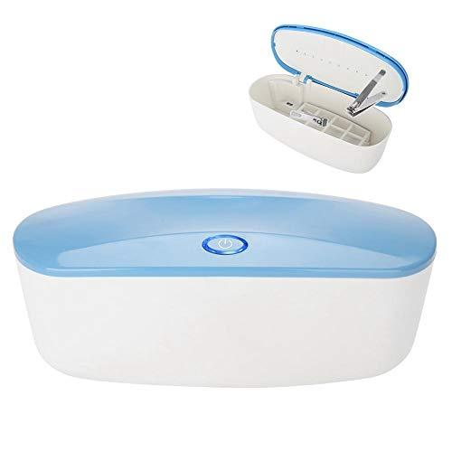 Boîte UV de désinfection, machine de désinfection portative d'art de clou de stérilisateur d'outil de LED pour des outils de maquillage professionnel de nettoyage de stockage de kits de manucure