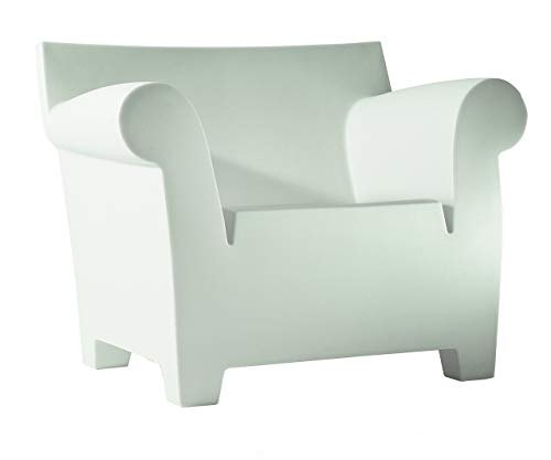 Kartell Bubble Club Sessel, Plastik, weiß, 75 x 78 x 102 cm - Club-sessel Set
