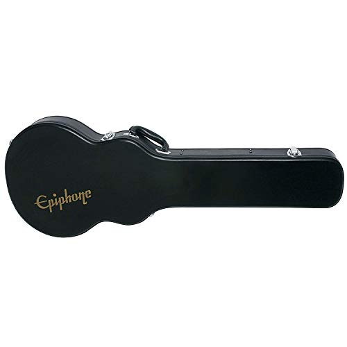 Epiphone Les Paul Hard Case - Caja rígida para guitarra, color negro