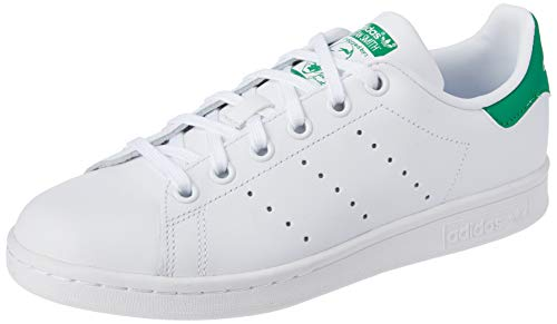 Adidas - Stan Smith Junior M20605 - Baskets mode Enfant / Fille, Blanc, 37 1/3 EU