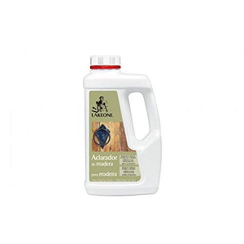 Aclarador de madera en gel - 1 litro - Elimina las manchas...