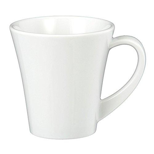 Cappuccinotasse 8,8 cm Paso white uni 00003 24 Stück von Seltmann Weiden