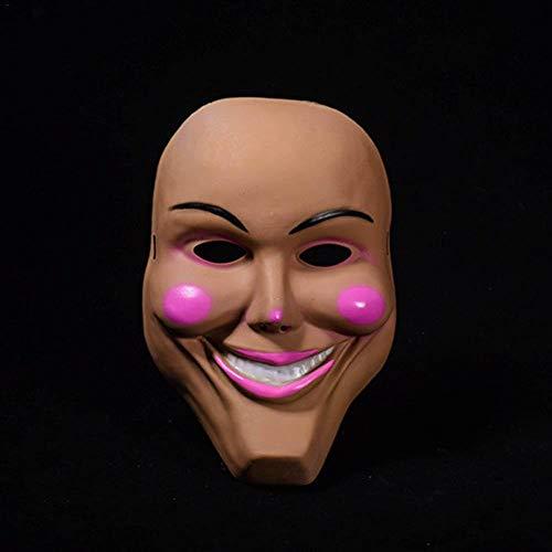 Kostüm Gott Feuer - Halloween Die Purge Maske Gott Cross Scary Halloween Masken Cosplay Party Prop Sammlung Vollgesichts Harz gruseligen Horrorfilm Masque (Color : 1)