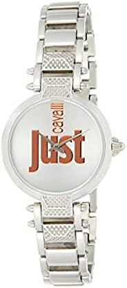 Just Cavalli Just Mio Women's Silver Dial Stainless Steel Band Watch - JC1L076M
