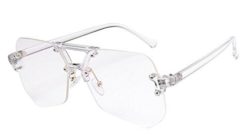 Dauco occhiali da sole donna moderni fashion a specchio occhio di poligono lenti polarizzate uv400