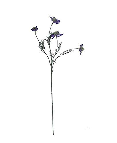 lqnMay Künstliche Blumen Clematis Blumenschmuck für Tisch Schreibtisch Room Shop Fotografie Hochzeitsdeko 1er Pack
