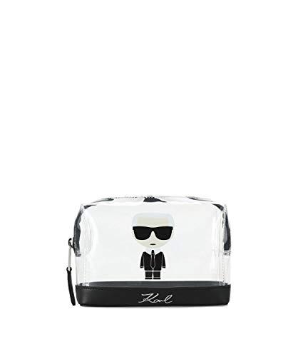 Karl Lagerfeld damen K/Ikonik Kosmetiktasche nero