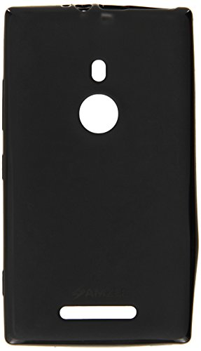 Amzer 96746 Amzer® Pudding TPU Case - Black for Nokia Lumia 925  available at amazon for Rs.424