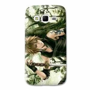 coque Samsung Galaxy Grand / Grand Plus Manga - divers - bois N