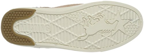 Mustang 1246-501-506, Sneakers Hautes Femme Beige (506 lachs)