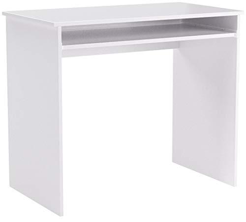 COMIFORT Schreibtisch - Robuster Praktischer Schreibtisch in Modernem und Minimalistischem Stil, Viel Stauraum, 1 Schublade und 1 Fach, Farbe: Nordic