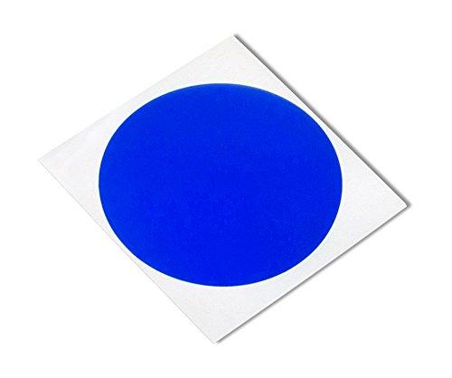 TapeCase 8905 CIRCLE-4,44 (1,750 poliestere-250 cm, in Silicone, colore: blu-Nastro adesivo, convertiti 8905 da 3 (1750 Etichette)