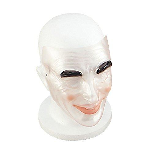 Bristol Novelty pm064transparent Stecker Maske, mehrfarbig, one size
