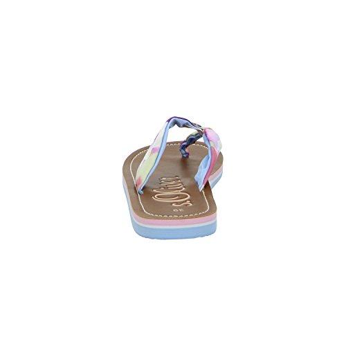 s. Oliver 5–57100–36/830fille Pantolette Multicolore - Multicolore