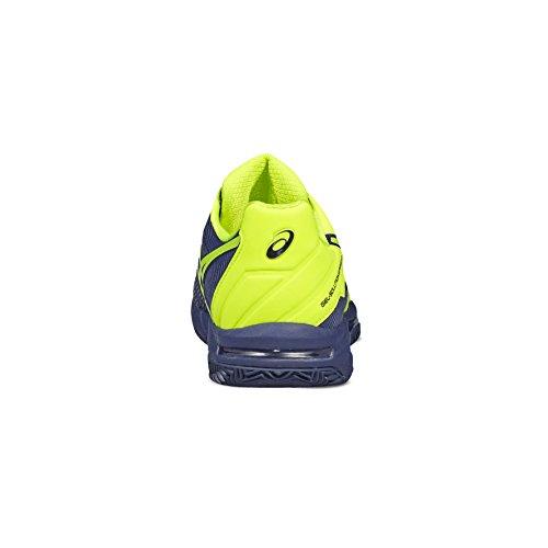 Chaussures Asics Gel-solution Speed 3 Clay bleu indigo/jaune fluo