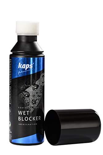 9aefb5f6 Kaps Aerosol impermeabilizante cuidado intensiva del calzado de piel, ante  nubuk y tejido contra humedad