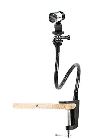 Microsoft Lifecam Studio - 25pouces(64cm) Flexible Serrage Pince Col-de-cygne Support De