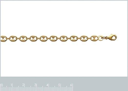 Collier Femme Chaîne Plaqué Or 750 3 Microns