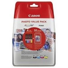 Patrone Canon CLI-551 XL Photo Value Pack 4er-Pack