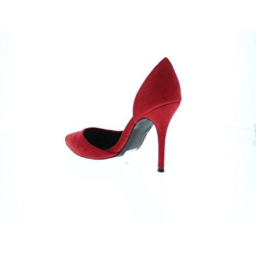 Blink, Scarpe col tacco donna 35 Rosso