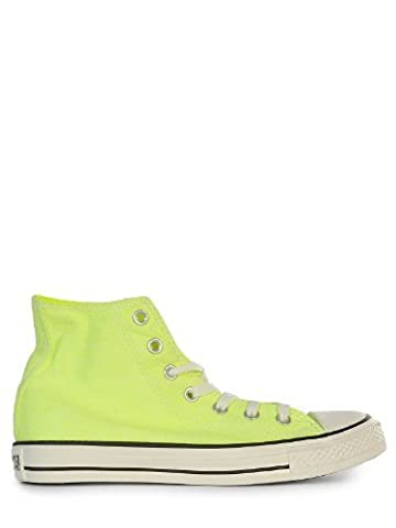 Converse Chuck Taylor All Star Wash Neon Hi, Baskets mode femme - Jaune (Neon Jaune), 38 EU