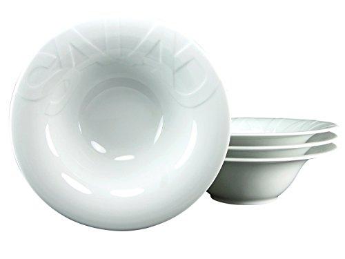 CreaTable 16692, Serie GOURMET, Geschirrset Salatteller 27cm 4 teilig