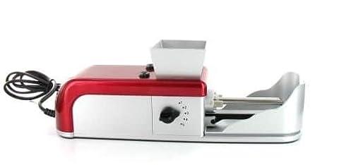 machine à tuber électrique rouge
