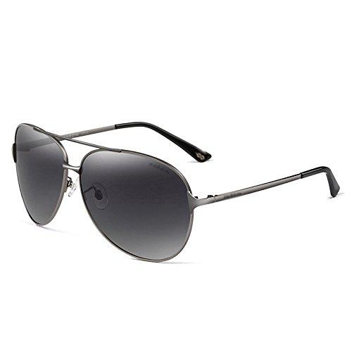 WFL Männer Sonnenbrille Sonnenbrille Männer Fahren Polarisierte Sonnenbrille Treiber Fahren Gläser 8009,B,G