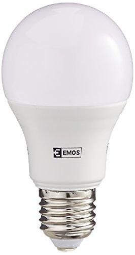 EMOS LED Glühlampe Classic A60 10,5W E27 Neutralweiß, Glas, 10.5 W, Transparent, 6,2 x 6,2 x 11,5 cm