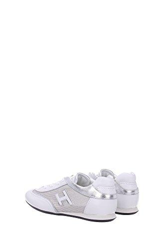 HXW05201687BYH0906 Hogan Sneakers Femme Cuir Blanc Blanc