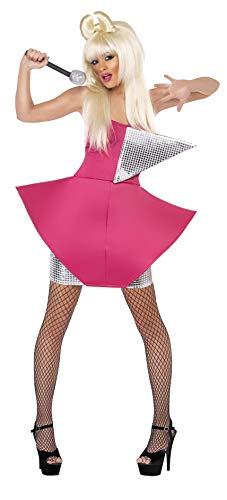 Smiffys, Damen Tanz-Diva Kostüm, Kleid, Größe: M, -