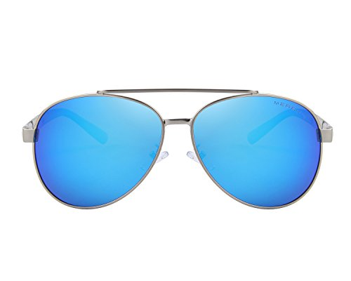 MERRY'S -  Occhiali da sole  - Uomo Blu Blue