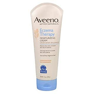 Aveeno Eczema Therapy Moisturizing Cream, 7.3 Ounce (Pack of 2) by Aveeno