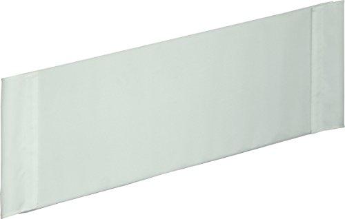roba Bettverkleinerer, Verkleinerung f, Babybetten 70x140 cm, Baby-Nestchen Canvas weiß