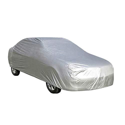 Autoabdeckung Vollgarage für Winter & Sommer Wasserdicht Sonnenschutz Stoff (Fünf Größen zur Auswahl)