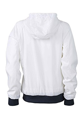 James & Nicholson Sports Jacket, Giacca Donna bianco/blu