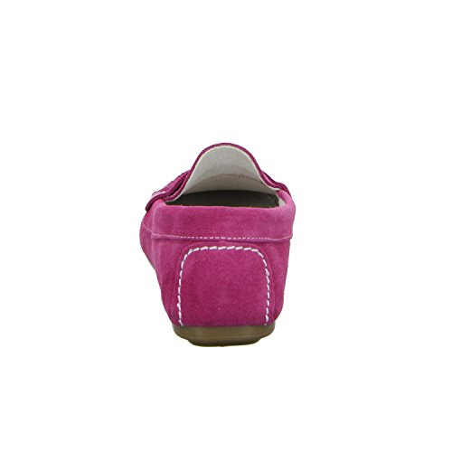 BOXX 8320 Damen Slipper Halbschuh sportlicher Boden Casual Rot (Fuchsia)