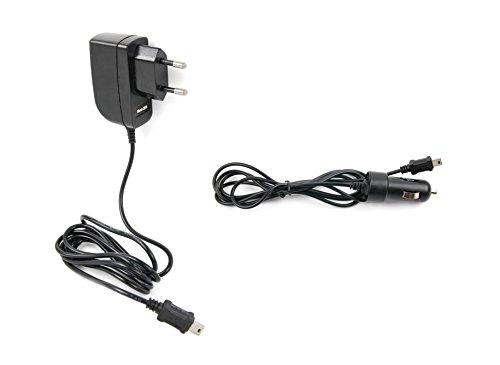 DURAGADGET EU-Ladegerät und Mini-USB Ladestecker für Auto-Zigarettenanzünder für Magellan Explorist GC Geocoaching GPS-Navis (Magellan-gps-auto-ladegerät)