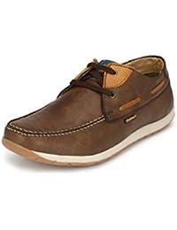Fentacia men Brown Sneakers