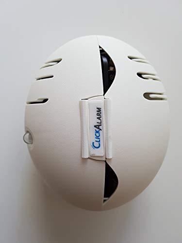 Fireinvent Rauchwarnmelder Mobiler Rauchmelder ClickAlarm ideal für Das Camping DIN EN 14604...