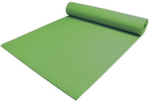 Motus Yoga Mat - Upgraded Yoga Mat Eco Friendly Non-Slip Exercise & Fitness, Workout Mat for All Type of Yoga, Pilates and Floor Exercises(4 mm Size)(Color-Green)