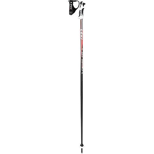 Leki bastoncini da sci Vertex S 120cm, taglia unica, colore: Nero/Rosso/Grigio