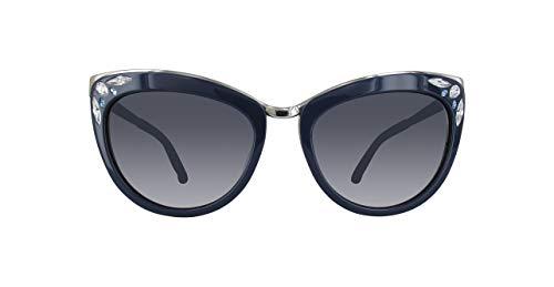 Swarovski sk0102f-90w-blau occhiali da sole, blu (blau), 56.0 donna