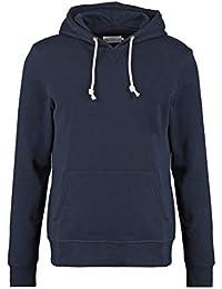 cc841fca4aaf Pier One Sweat à Capuche en Coton pour Hommes - Sweat-Shirt avec Cordon de  Serrage Casual - Pullover décontracté…