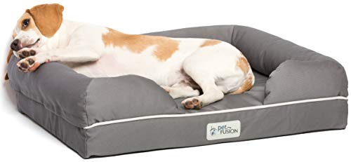 PetFusion-Ultimate-Solid-65cm-Waterproof-Memory-Foam-Pet-Bed-for-Small-Dogs-Cats